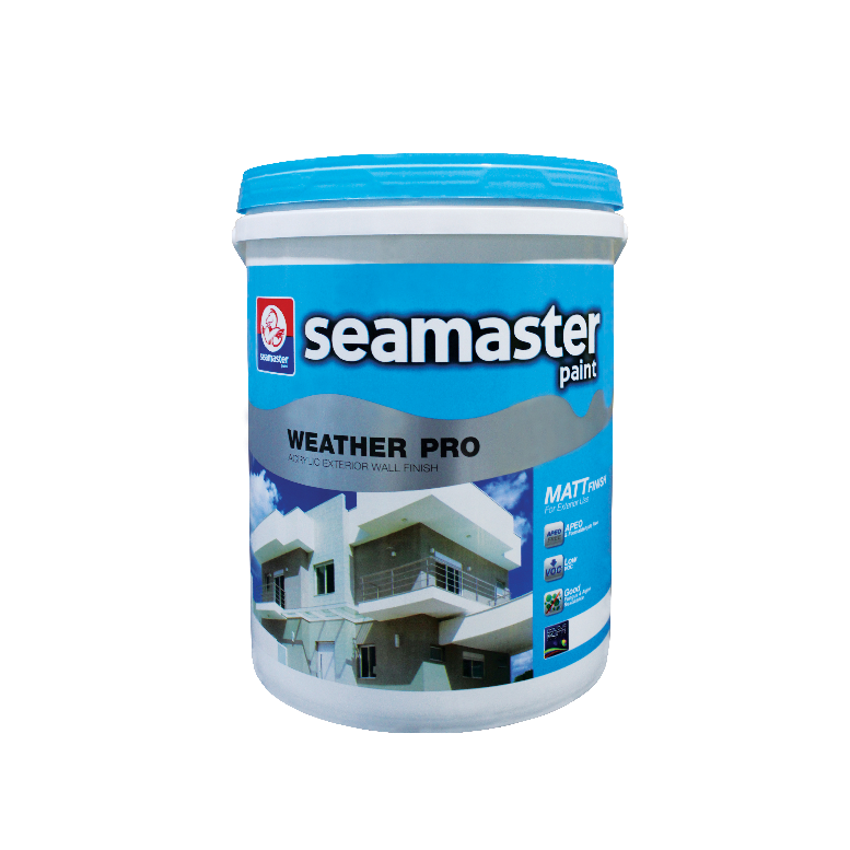 Weather Pro Acrylic Exterior Wall Finish (3years) 7900G