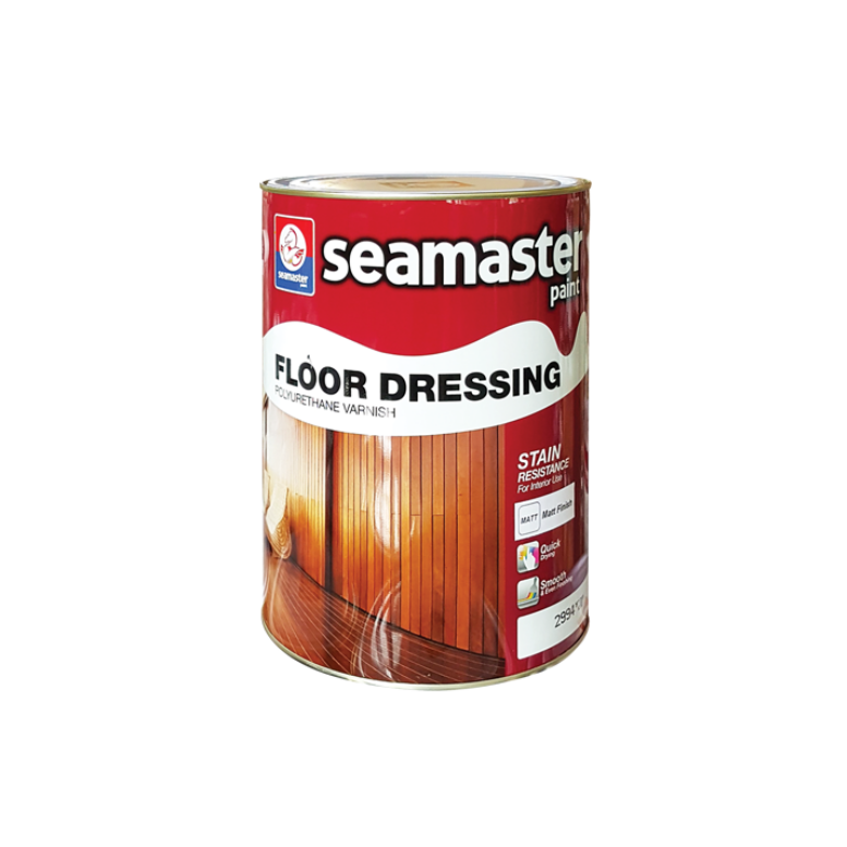 Floor Dressing Polyurethane Varnish Coating Clear (Gloss) 2992