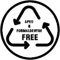 APEO & Formaldehyde Free